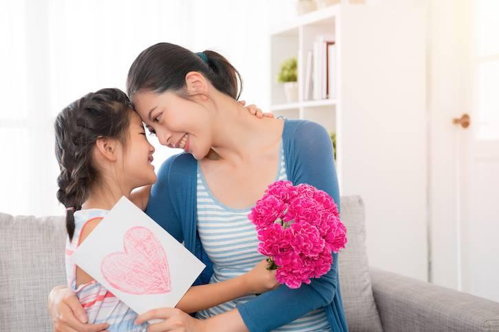 保存母親節卡方法3. 收藏在相架或盒中