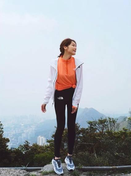 李佳芯的慢跑減肥法,令腿部不會變粗。(圖片來源:李佳芯IG)