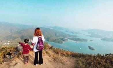 太墩親子行山  西貢千島湖一小時登頂  三星半中級路線交通一覽|親子好去處
