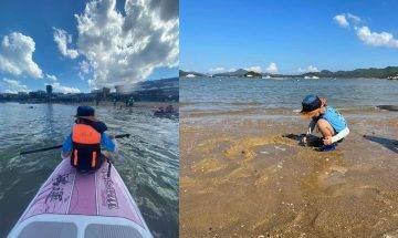 西貢親子獨木舟/直立板/水上單車 夏日消暑水上活動|附收費詳情
