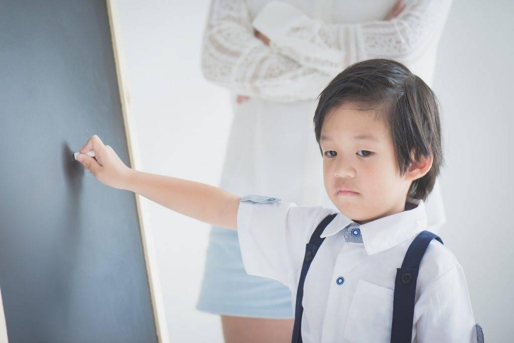 惡言相向會影響孩子的自信。