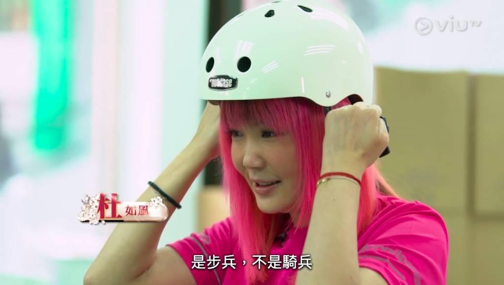 杜如風直言正式開工當日才知道自己要應徵的工作。(圖片來源:ViuTV節目)