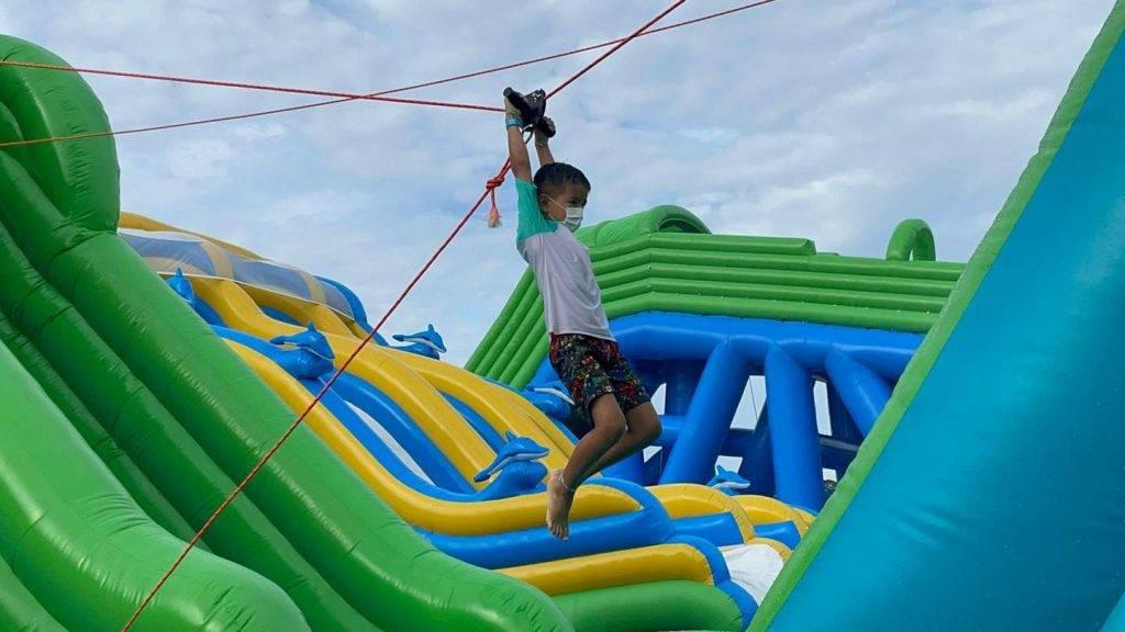 泰山飛索 Tarzan Zipline(圖片來源:Day Day Play)