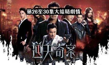 逆天奇案|大結局劇透劇情:張頴康、劉佩玥無罪釋放 亂槍掃射大混戰