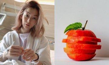 鄭秀文網上分享「蘋果醋紓緩胃酸倒流偏方」蘋果醋4大好處及注意事項