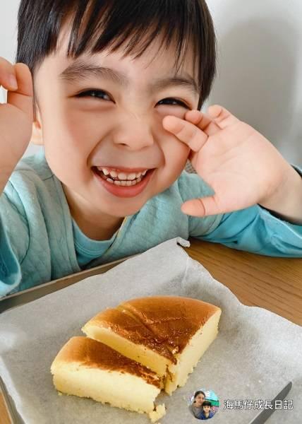 有一款食譜她特別推薦,就是日式芝士蛋糕食譜(圖片來源:受訪者海馬媽媽)