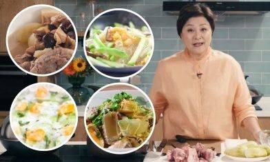 節瓜食譜三餸一湯-炎夏暑天聖物:節瓜湯/節瓜粉絲蝦米!生津解渴低卡