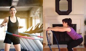 呼拉圈減肥法3個重點動作 每日5分鐘一個月減肚腩及改善駝背 附3大影片教學推介