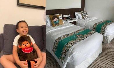 愉景灣酒店 Monchhichi Staycation包下午茶+曲奇班+早餐
