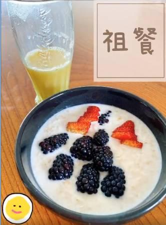 零失敗牛奶麥皮加金鳳兒時回憶懷舊飲品。 圖片來源:容祖兒@IG