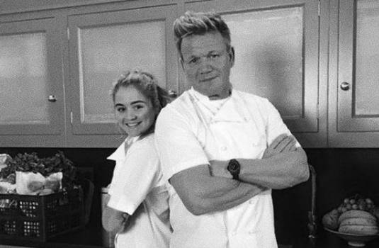知名廚神 Gordon Ramsay 的寶貝女兒亦改名為Matilda。(圖片來源:Matilda Ramsay@IG)