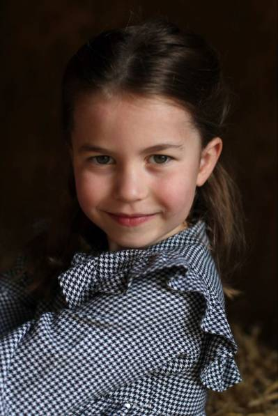 英國威廉王子與妻子凱特·米德爾頓所生的第二個孩子,亦取其名為Princess Charlotte(圖片來源:dukeandduchessofcambridge@IG)
