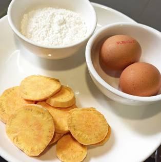 星期五茶點快速食譜:無糖蕃薯蛋糕(圖片來源:Kylife與二寶之日常)