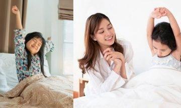 起床首對話為子女建設好心情 簡單3句話改善賴床 抱愉悅心情上學去!