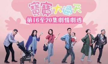 寶寶大過天|16-20集劇情劇透 陳自瑤人工受孕、馬國明懷疑岑麗香出軌