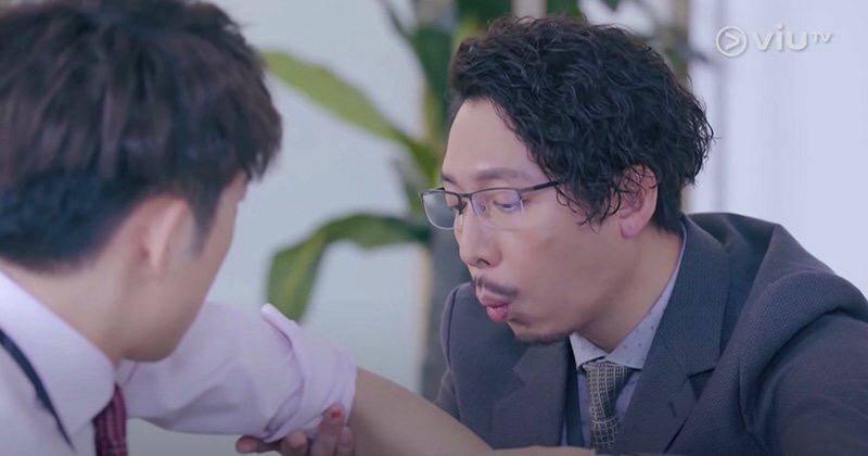 角色Darren反差大 演出感人(圖片來源:ViuTV劇集《大叔的愛》電視截圖)