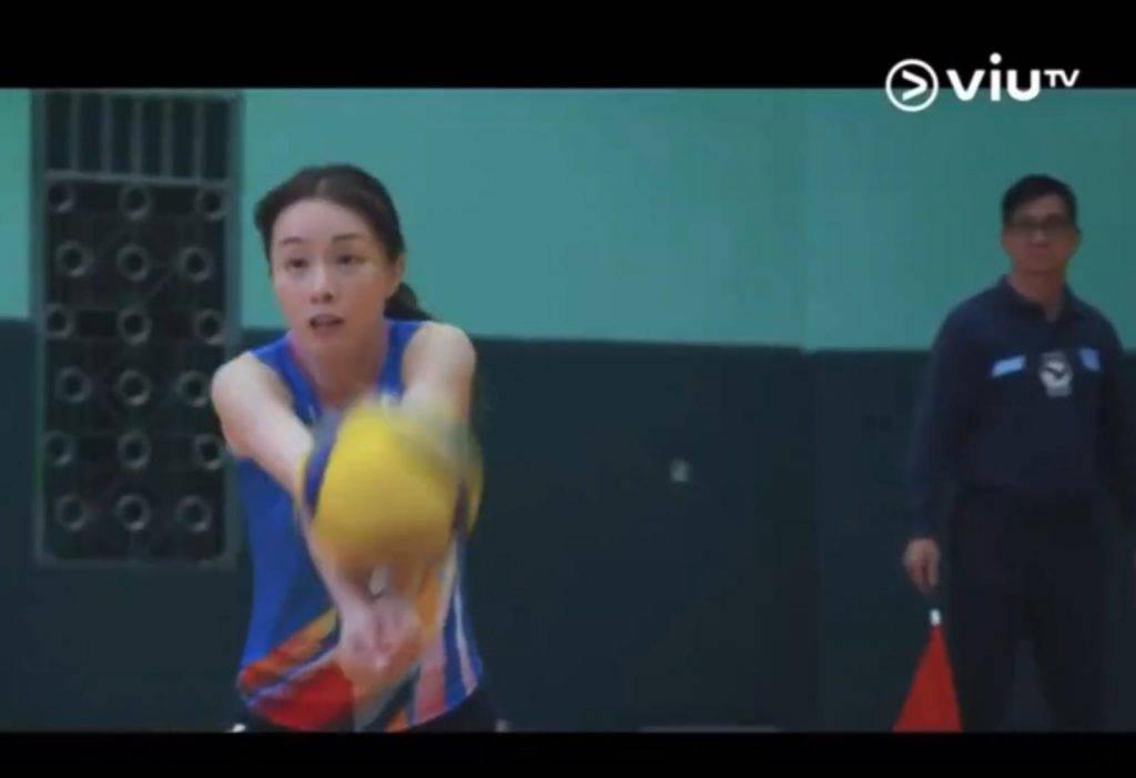 鄧麗欣排球女神(圖片來源:ViuTV《男排女將》電視截圖)