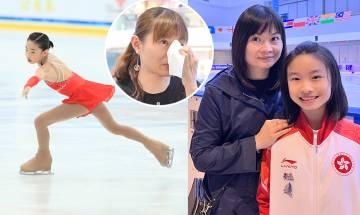 奧運夢|滑冰港隊成員陳紫澄曾破香港紀錄奪獎無數 揭運動員辛酸 媽媽落淚:以佢為榮【五味人生】