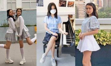 聲夢傳奇|14歲姚焯菲清純校服look接受校網訪問 卸下重妝講音樂