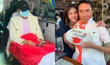 突發!54歲林利陪母親拍廣告突不適送院 三年前抗癌成功變「養生達人」
