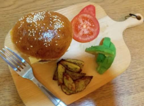 星期六幼兒食譜:健康漢堡包(圖片來源:荔枝孖媽)