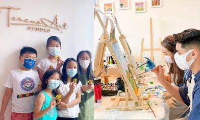 Terena Art Studio 親子同樂藝術體驗 創意輕黏土+Art Jamming KISS試堂