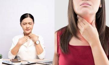 容易聲沙可能是喉癌徵兆!專科醫生憑2大特點區別喉癌症狀與發炎