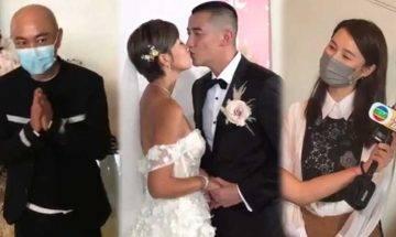 37歲洪永城婚禮宣布33歲老婆梁諾妍大肚4個月雙喜臨門 張衛健暗示胎兒性別!
