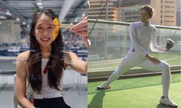 東京奧運 江旻憓素食後更強壯 美女港隊劍擊手直擊奧運素食