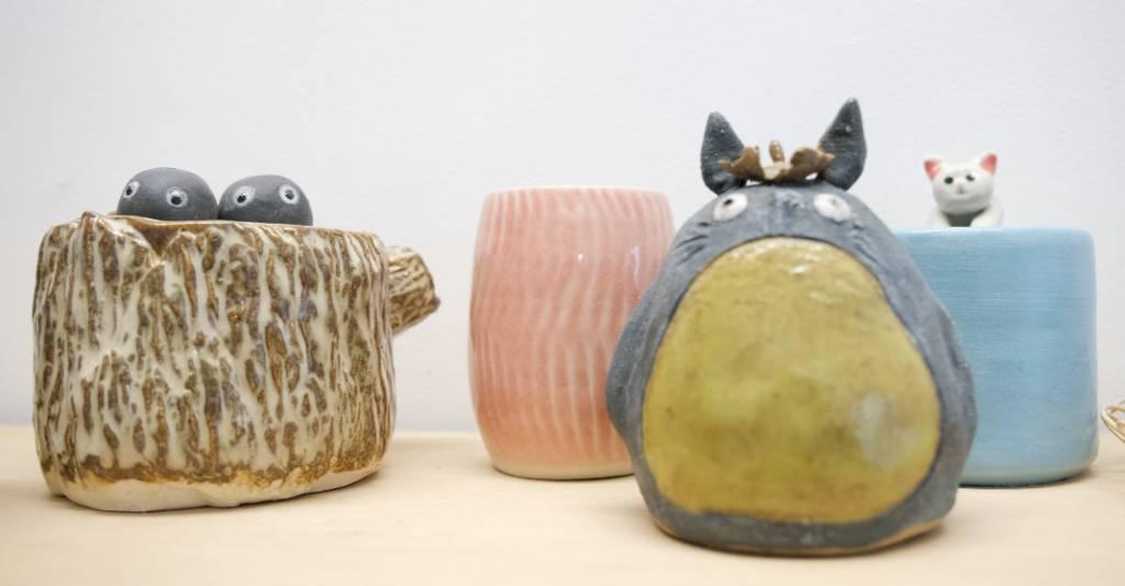 手捏陶瓷(圖片來源:新傳媒資料庫)