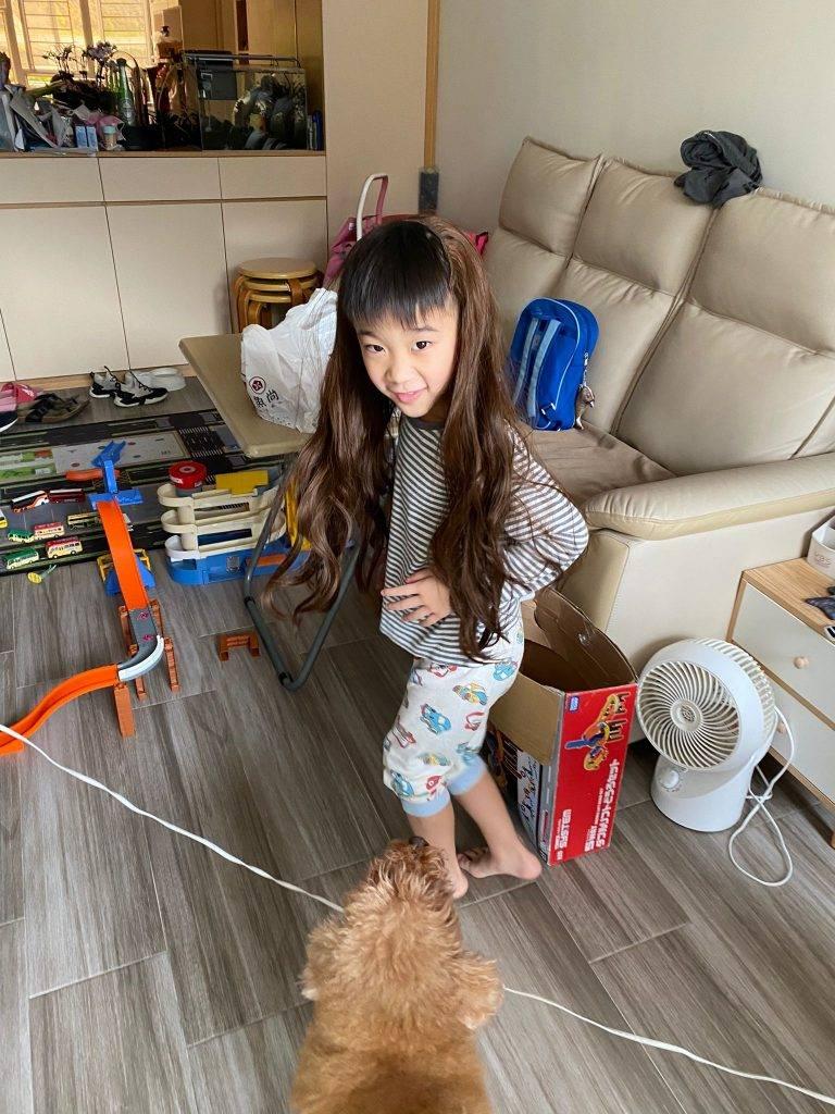 以靜制動 停止小朋友失控行為(圖片來源:受訪者Kerry媽媽)