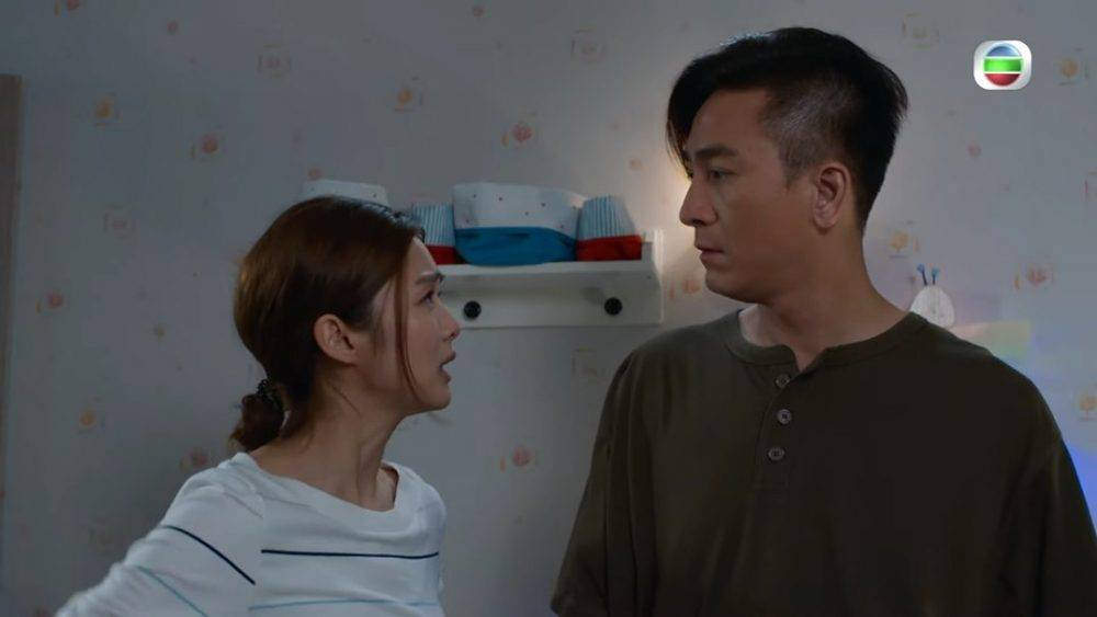 4歲女走失講爸爸名勁爆笑(圖片來源:TVB劇集《寶寶大過天》電視截圖)