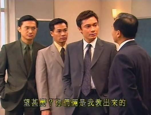 愛使錢買高質音響 當年離巢TVB全因錢字(圖片來源:TVB劇集《創世紀》電視截圖)