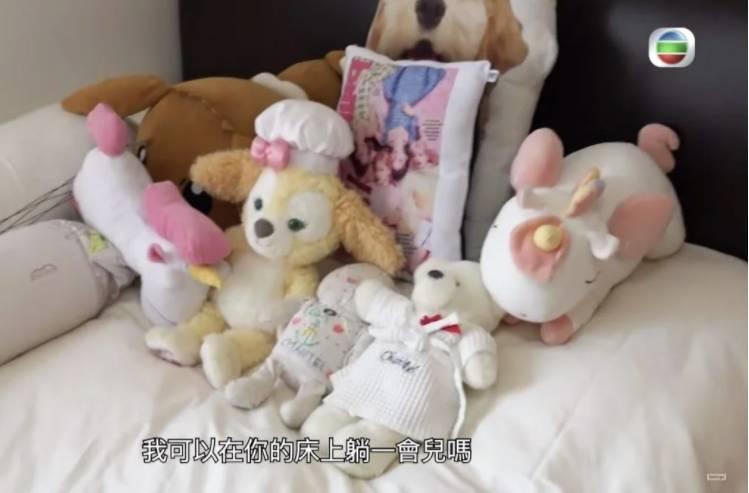 睡房(圖片來源:TVB電視截圖)