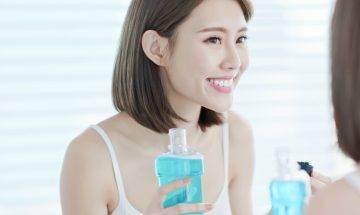 漱口水用法|亂用漱口水或致蛀牙 英國牙醫解釋漱口黃金時間