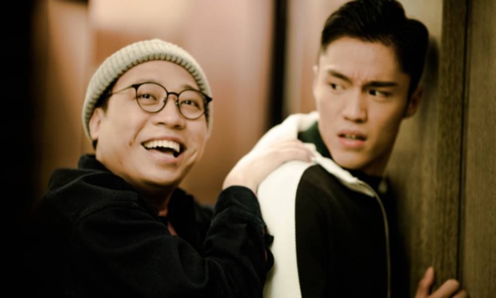 C君驚悉丁子朗與陳自瑤同住一屋,怒火中燒施襲。(圖片來源:TVB)