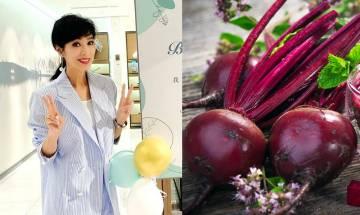 紅菜頭4大功效 66歲米雪靠紅菜頭蘋果湯抗老+3個紅菜頭烹飪貼士