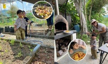大埔生活農莊|落手種菜+柴火pizza+圍爐燒烤 月租$360體驗耕種樂