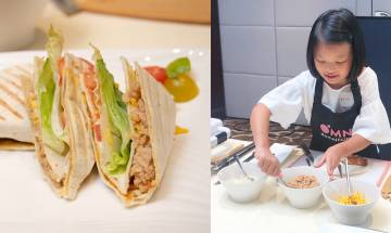 墨西哥薄餅食譜-換上純素食材+新豬肉!簡單到小朋友能獨自完成