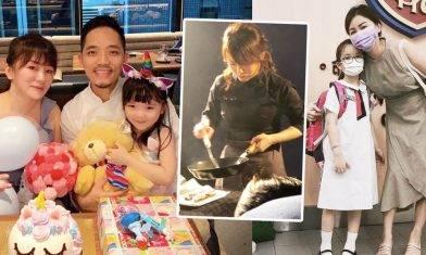 名廚媽媽歷失婚終遇興趣一致好老公 把煮食態度育兒 3招為女兒建自信|KISSMOM專訪