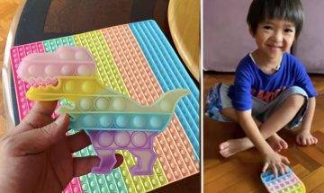 Pop it 彩虹矽膠板成潮物!輕巧抵玩 訓練數感、思維的教材 邊玩邊學