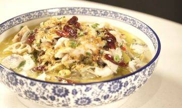 酸菜魚食譜-火鍋店老闆親教簡易版食譜 煮出滑捋捋魚片關鍵在火候