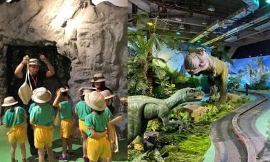 《侏羅紀×恐龍樂園》6大互動展區+3公尺大暴龍 早鳥95折優惠進入侏羅紀國度